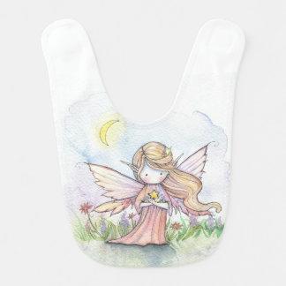 Stern-feenhafte Aquarell-Kunst Lätzchen
