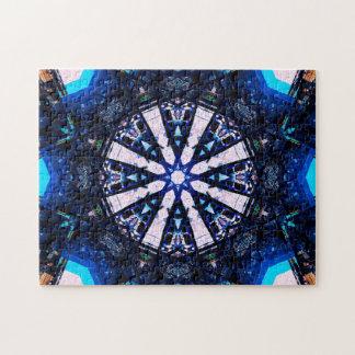 Stern formt Mandala Puzzle