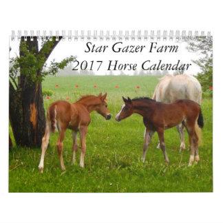 Stern-Gaffer-Bauernhof-Pferdekalender 2017 Kalender