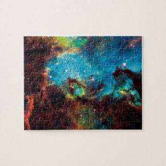 Stern-GruppeNGC Tarantula-Nebelfleck-Raum-Foto Puzzle