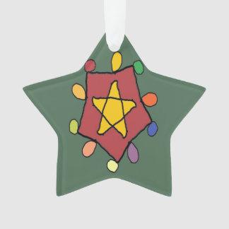 Stern in den Lichtern Ornament