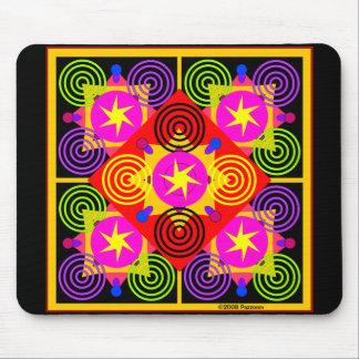 Stern-Kasten geometrisch Mousepads