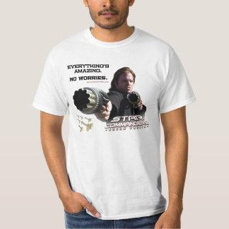 Stern-Kommandanten: Gauner zwingt T - Shirt
