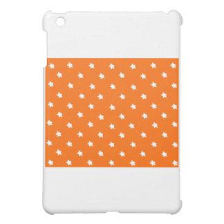 Stern-orange Weiß die MUSEUM Zazzle Geschenke iPad Mini Hülle