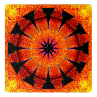 Stern-Portal-Mandala Acryldruck