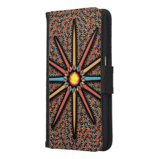 Stern Samsung Galaxy S6 Geldbeutel Hülle