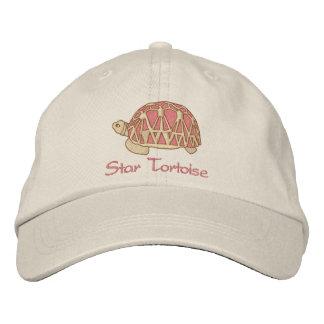 Stern-Schildkröten-Hut Besticktes Cap
