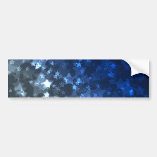 Stern-Simulations-Raum-blaues Licht-Beleuchten Autoaufkleber