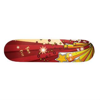Stern sprengte geborenes freies personalisierte skateboards