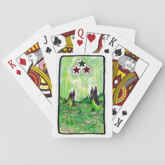 Stern-Sumpf-Spielkarten Spielkarten