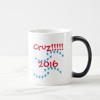 Stern-Tassen-Wahl-Gang Ted Cruz 2016 Verwandlungstasse