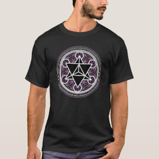 Stern-Tetraeder/Markaba (heilige Geometrie) Shirt