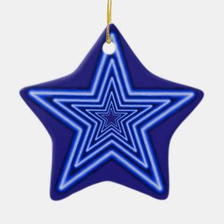 Stern-Verzierung Keramik Ornament