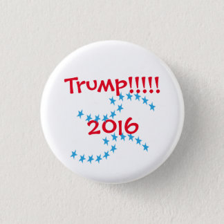 Stern-Wahl-Gang Donald Trump 2016 Runder Button 3,2 Cm