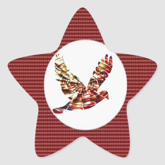 STERN Wunder - retten Sie Datum für heilige Stern Aufkleber