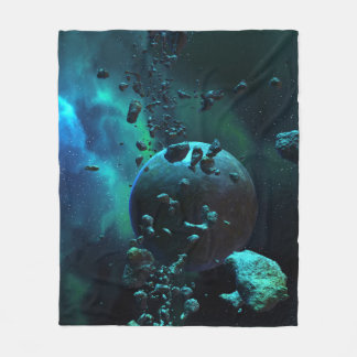 Sternartige Feld-Fantasie-Fleece-Decke Fleecedecke