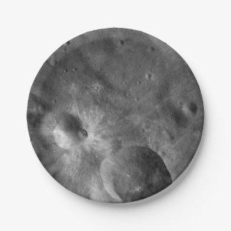 Sternartige Vesta Krater Pappteller