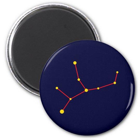 Sternbild constellation Virgo Jungfrau virgin Runder Magnet 5,1 Cm