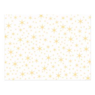 Sternchen-Vereinbarung, weiße und Postkarte