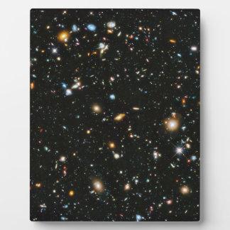 Sterne im Raum - Hubble ultra tiefes Feld Fotoplatte