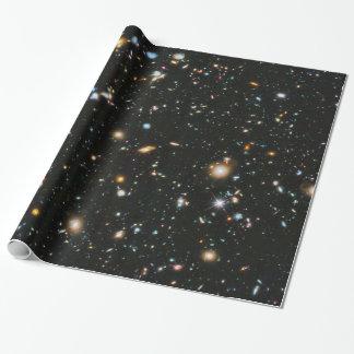 Sterne im Raum - Hubble ultra tiefes Feld Geschenkpapier