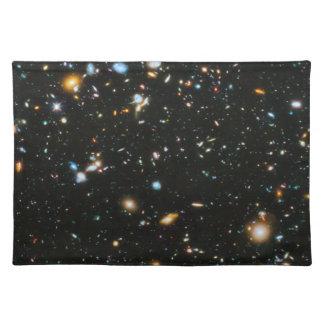 Sterne im Raum - Hubble ultra tiefes Feld Tischset