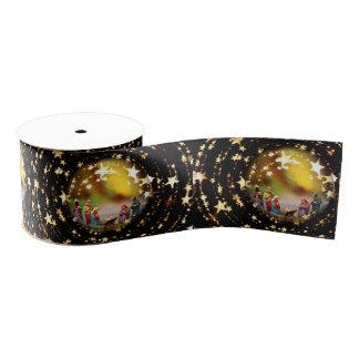 Sterne Nativity-Szenen-Krippen-Jungfrau-Marys Ripsband
