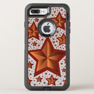 Sterne OtterBox Defender iPhone 8 Plus/7 Plus Hülle