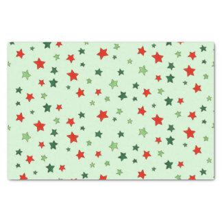 Sterne Seidenpapier