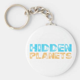 Sterne sind versteckte Planeten Schlüsselanhänger