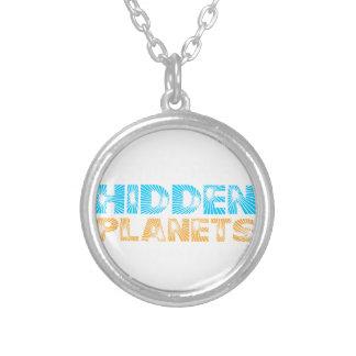 Sterne sind versteckte Planeten Versilberte Kette