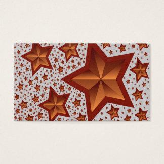 Sterne Visitenkarten