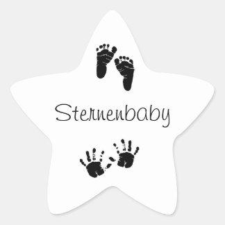 Sternenbaby Aufkleber