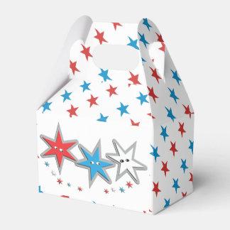 Sternenklare Blicke - ein patriotisches Trio Geschenkschachtel