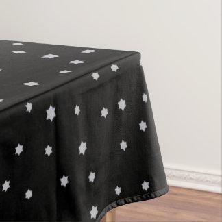 Sternenklare Entwurfs-Schwarz-Tischdecke Tischdecke