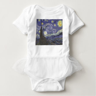 Sternenklare Nacht Baby Strampler