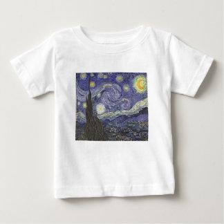 Sternenklare Nacht Baby T-shirt
