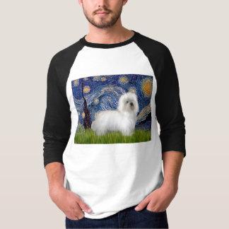 Sternenklare Nacht - Baumwolle de Tulear 5 T-Shirt