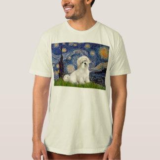 Sternenklare Nacht - Baumwolle de Tulear 7 T-Shirt
