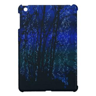 Sternenklare Nacht (blau) iPad Mini Hülle