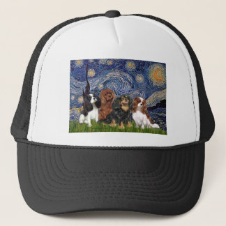 Sternenklare Nacht der Kavalier-(vier) - Truckerkappe