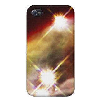 Sternenklare Nacht des Kegel-Nebelflecks iPhone 4 Hülle