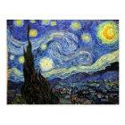 Sternenklare Nacht durch Vincent van Gogh 1889 Postkarte