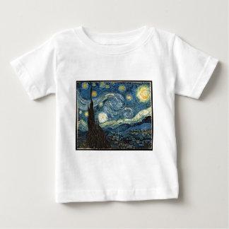 Sternenklare Nacht durch Vincent van Gogh Baby T-shirt