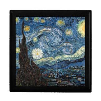 Sternenklare Nacht durch Vincent van Gogh Schmuckschachtel
