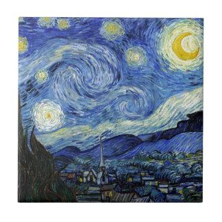 Sternenklare Nacht durch Vincent van Gogh Keramikfliese