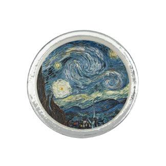 Sternenklare Nacht durch Vincent van Gogh. Ring