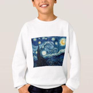 Sternenklare Nacht durch Vincent van Gogh Sweatshirt
