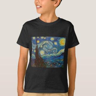 Sternenklare Nacht durch Vincent van Gogh T-Shirt