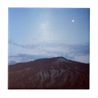 Sternenklare Nacht in Colorado.jpg Kleine Quadratische Fliese